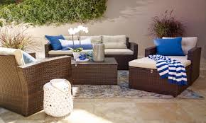 Coffee Tables For Small Spaces how to choose summer patio furniture for small spaces overstock com