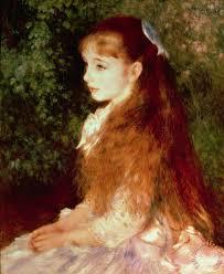 portrait of mademoie irene cahen d anvers painting pierre auguste renoir portrait of mademoie