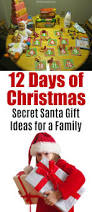 12 days of christmas secret santa gift ideas