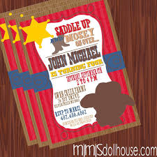 western party invitation template ideas fancy dress party