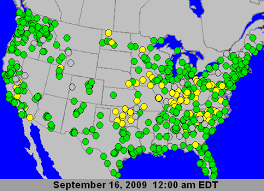 ohio river valley map u s air quality moderate air quality the ohio river valley