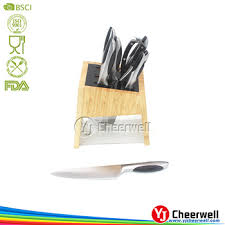 German Kitchen Knives Kitchen Knife Block Set German High Carbon Stainless Steel Knife