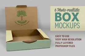check out 6 photorealistic box mockups v 3 by illusiongraphic on