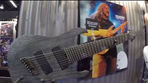 fanned fret 7 string namm 2015 ibanez multiscale fanned fret 7 and 8 string guitars