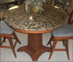 centerpiece granite top dining table dining room design ideas