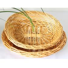 factory direct delivery speed round wicker basket of bread fruit