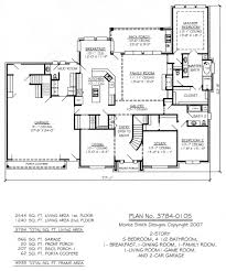 5 bedroom 4 bathroom house plans awesome house plans for family of pictures designs story plan with