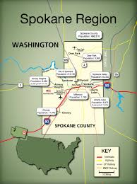 Map Of Spokane Gsi Magazine 2017 U003e Gsi Economic Development