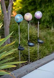 Halloween Decorations Reject Shop by Crackle Ball Stake Solar Lights Only 9 Each From The Reject Shop