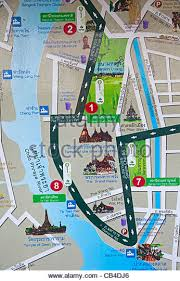 bangkok map tourist attractions bangkok map stock photos bangkok map stock images alamy