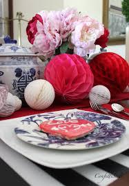 valentine u0027s day tablescape in my favorite colors confettistyle