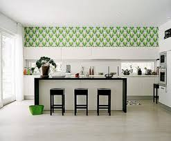 Kitchen Backsplash Wallpaper by Interior Kitchen Wallpaper Ideas Throughout Great Kitchen Design