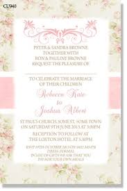 cu940 wedding invitation shabby chic engagement u0026 wedding