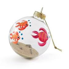 such a ornament fish painted on the outside real sand and