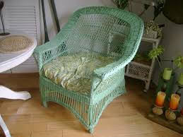 green painted wicker chair wicker chairs wicker furniture and