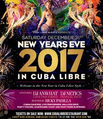 new years party in orlando new years 2017 cuba libre nights orlando