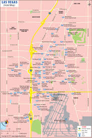 Las Vegas Zip Code Map Las Vegas Strip Map Map Of Las Vegas Hotels
