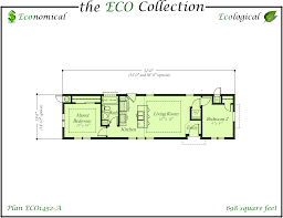 eco series single wide home