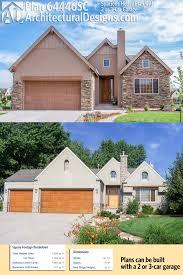 plan 64446sc spacious house plan with 2 or 3 car garage