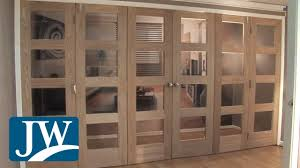 internal folding doors youtube