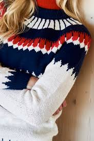 Free Northern Lights Sweater In S Northern Lights Sweater Free Knitting Pattern 1