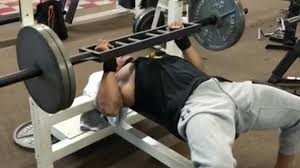 Most Weight Ever Benched Dwayne Johnson Preps For U0027rampage U0027 Filming With An Epic Bench