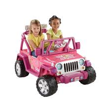 barbi benton 2016 power wheels barbie deluxe jeep wrangler 12 volt battery powered