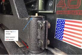 jeep yj rock crawler how to install a redrock 4x4 tubular rock crawler rear bumper w