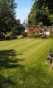 backyard putting green diy home outdoor decoration
