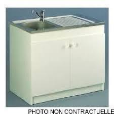 meuble cuisine evier integre meuble avec evier integre achat vente pas cher