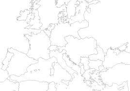 Blank Map Of Italy by World War I Maps