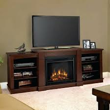 Corner Tv Stands With Fireplace - aged white home decorators collection fireplace stands compressed