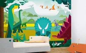 Dinosaurs Kids Wall Murals Kids Room Wallpaper Boy Room Wall - Kids room wall murals