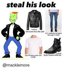 Meme Jacket - steal his look 500500 saint laurent classic biker jacket apc