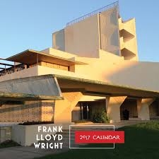 frank lloyd wright 2017 wall calendar galison mark hertzberg