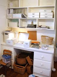 Organized Desks Chic Organized Home Office For 100 Hgtv