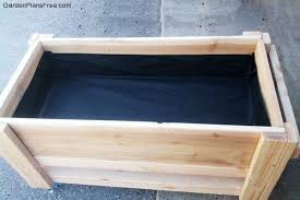 Backyard Planter Box Ideas Diy Large Planter Bench Free Garden Plans How To Build Garden