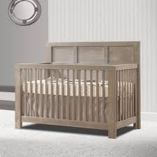 oak convertible crib natart rustico collection 4 in 1 convertible crib in sugar cane