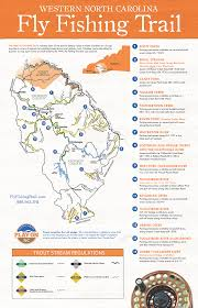 Western North Carolina Map Map Of Access Points For Trout Fishing On The Tuckasegee River And