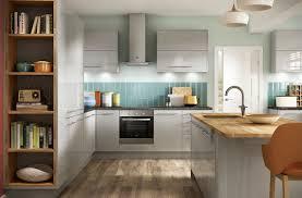 high gloss light grey kitchens eton range benchmarx