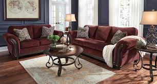 Living Room Table Sets Surprising Chesterbrook Burgundy Living Room Set Sets Leather