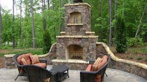 outdoor rock fireplace designs the home design pick one the best