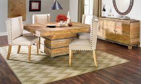 Solid Wood Dining Room Tables American Way Solid Pine Dining Set The Dump America S