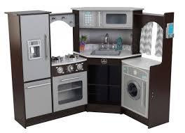 cuisine en angle cuisine d angle avec sons et lumières kidkraft 53365 lestendances fr