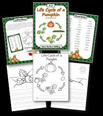 life cycle of a pumpkin freebie teaching with nancy