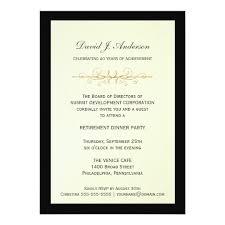 retirement invitations corporate retirement party invitations zazzle