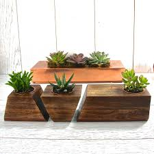 Modern Wood Planter by Plant Stand Wooden Plant Holder Tall Modern Mahogany Planter