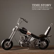 vintage motorcycle model retro iron motorbike model handmade