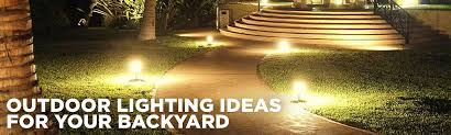 Backyard Landscape Lighting Ideas - outdoor lighting ideas for your yard sears