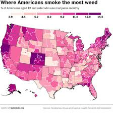 San Francisco In Us Map by San Francisco Has Highest Level Of Marijuana Smokers In The Us